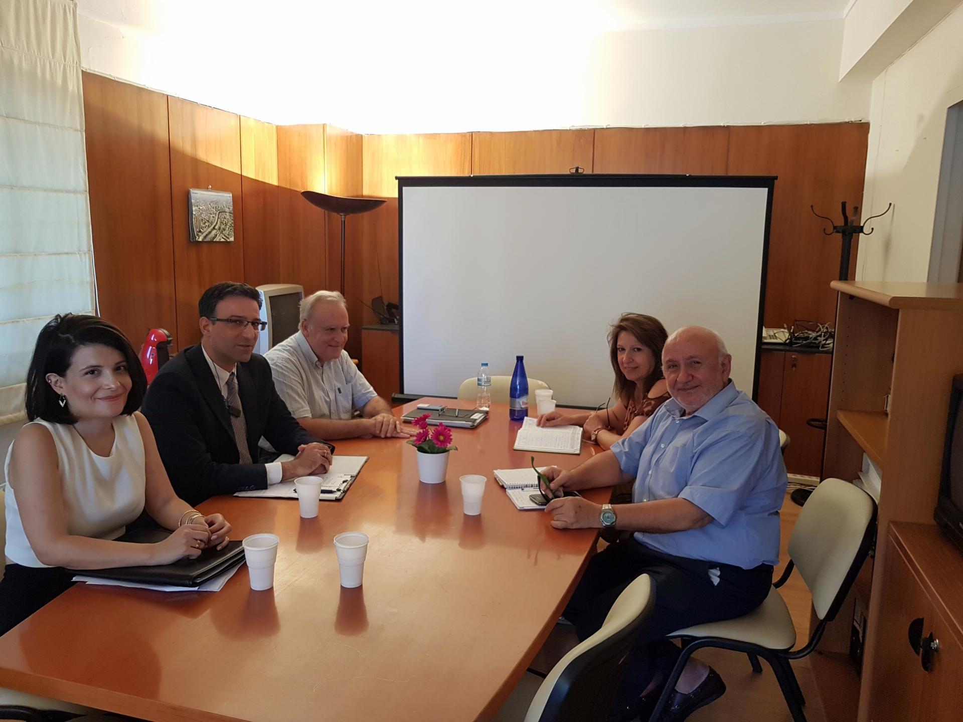 Συνάντηση της ΕΘΕΜ με το Ειδικό Γραμματέα Υδάτων