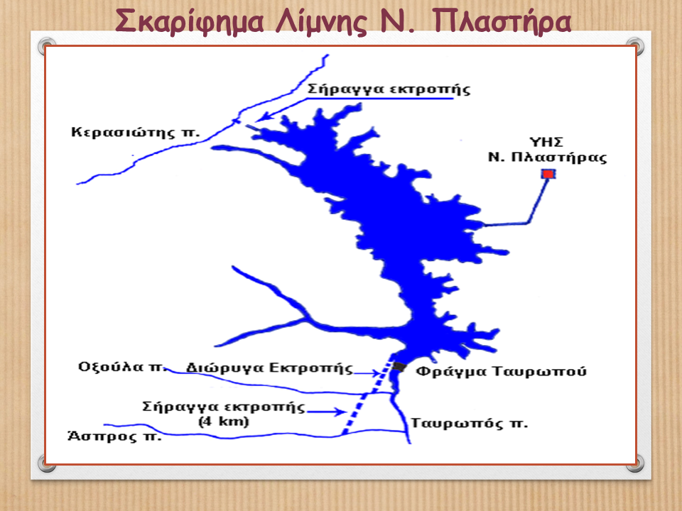 Σκαρίφημα Λίμνης Ν. Πλαστήρα